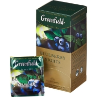 Greenfield Blueberry Nights, 25 шт.
