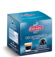 Carraro Decaffeinato, 16 шт.