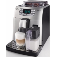 Saeco Intelia One Touch Cappuccino Black Silver