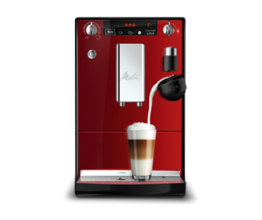 Автоматическая кофемашина Melitta CAFFEO Lattea red