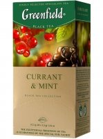 Greenfield Currant & Mint, 25 шт.