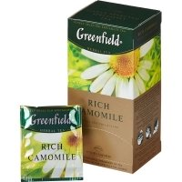 Greenfield Rich Camomile, 25 шт.