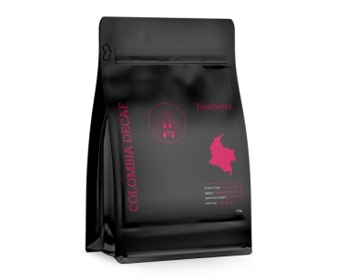 Кофе без кофеина Fineberry Colombia Decaf 250 г