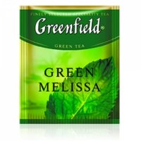 Greenfield Green Melissa,100 шт.