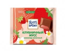 Ritter Sport Шоколад Strawberry mousse