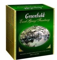Greenfield Earl Grey fantasy, 120 шт.