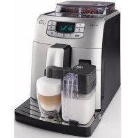 Philips Saeco Intelia One Touch Cappuccino Black Silver
