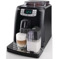 Philips Saeco Intelia One Touch Cappuccino Black