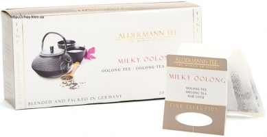 Aldermann tee  Milky Oolong, 20*4г