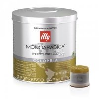 ILLY  IPSO COLOMBIA MONOARABICA, 21 шт.
