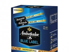 Ambassador Blue Label, 25 стиков по 2г.