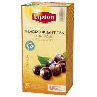 Lipton Blackcurrant Tea, 25*2 г
