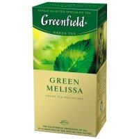 Greenfield Green Melissa, 25 шт.